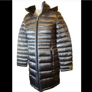 Andrew Marc Long Down Puffer Jacket/coat. NWT